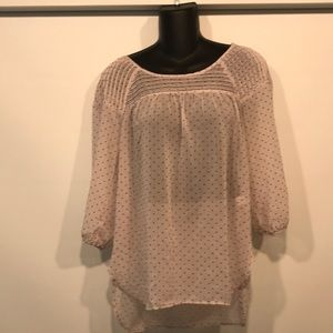 LC Conrad sheer Blouse